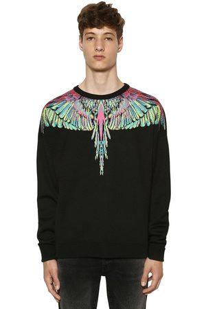 MARCELO BURLON Wings Wool Blend Knit Sweater