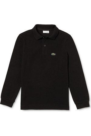 Lacoste Boys Polo Shirts - Boys' Classic Pique Long-Sleeve Polo - Little Kid, Big Kid