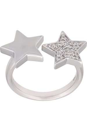 ALINKA Women Rings - Stasia' double star diamond ring - Metallic