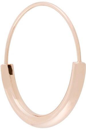 Maria Black Hoop - Small Serendipity Hoop earring - Metallic