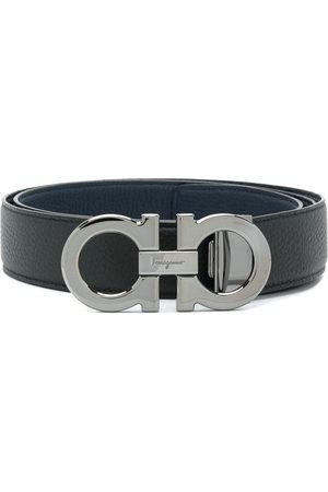 Salvatore Ferragamo Men Belts - Double gancino belt