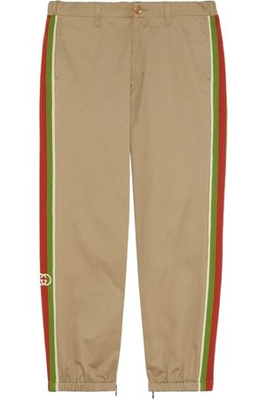Gucci Web stripe track pants - Neutrals