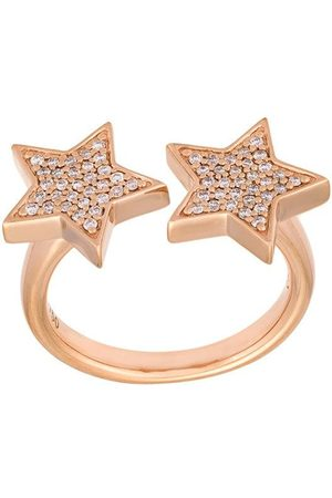 ALINKA Women Rings - Stasia' double diamond star ring - Metallic