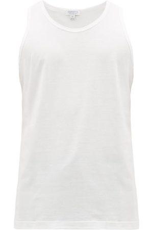 Sunspel Men Tank Tops - Superfine Cotton-jersey Tank Top - Mens