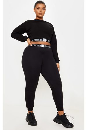 PRETTYLITTLETHING Women Sweats - Plus Lounge Jogger