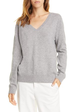 Vince Women's Weekend V-Neck Cashmere Sweater