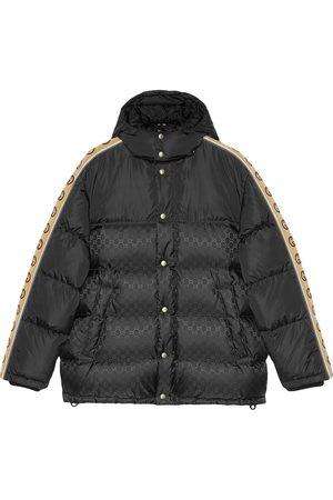 Gucci Men Puffer Jackets - Monogram pattern padded coat