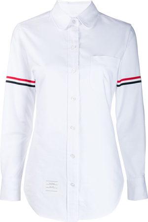 Thom Browne Grosgrain Armband Oxford Shirt