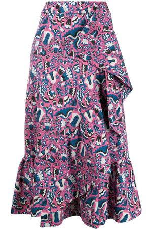 La DoubleJ Women Midi Skirts - Jazzy ruffled midi skirt