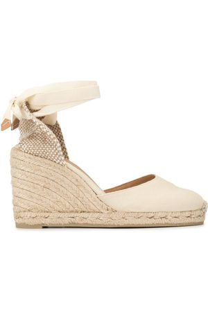 Castañer Carina wedge sandals - NEUTRALS