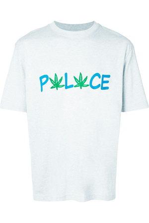 Palace Logo print T-shirt - Grey