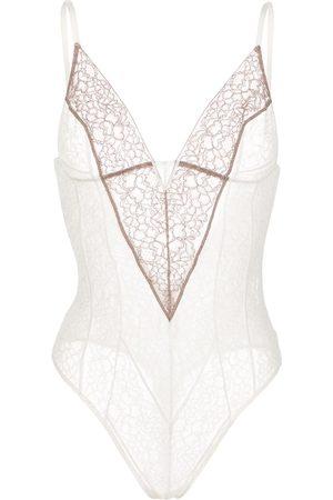 Kiki de Montparnasse Stretch lace bodysuit