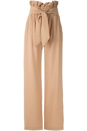 Olympiah Laurier clochard trousers - Neutrals