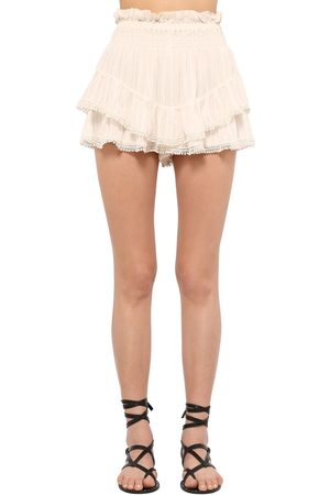 Isabel Marant Women Skorts - Janis Light Viscose Skort