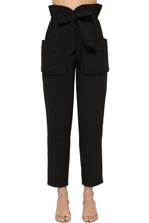 Isabel Marant Women Pants - Bessie Padded Canvas Pants