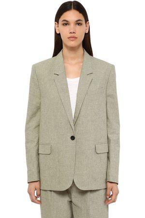 Isabel Marant Verix Cotton Canvas Blazer
