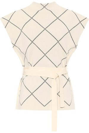 Proenza Schouler Women Tops - Checked jacquard top