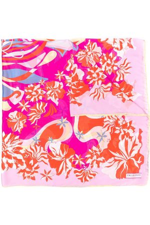 Emilio Pucci Women Scarves - Abstract floral print scarf