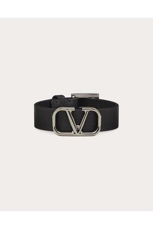 VALENTINO GARAVANI Men Bracelets - Vlogo Leather Bracelet Man 100% Pelle Di Vitello - Bos Taurus OneSize