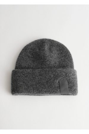 Other Stories Fuzzy Wool Blend Beanie