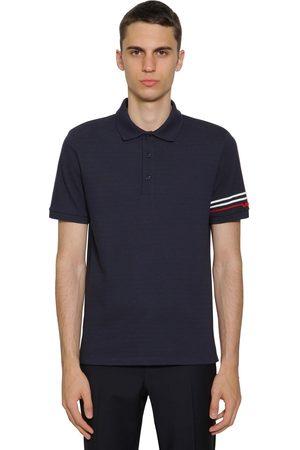 VALENTINO Polo Shirt W/ Embellished Logo