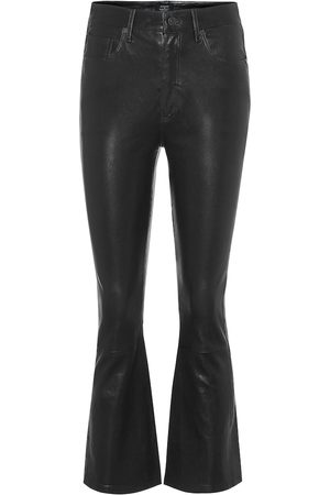Citizens of Humanity Demy high-rise flared leather pants