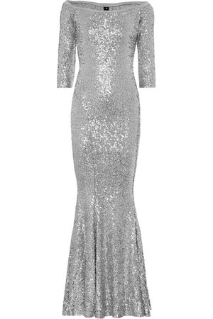 Norma Kamali Sequined mermaid gown