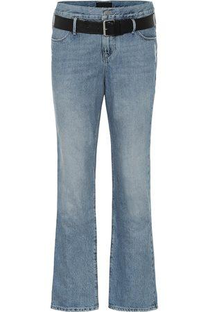 RTA Dexter belted boyfriend jeans