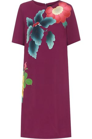 Etro Women Printed Dresses - Floral cotton-blend crêpe dress