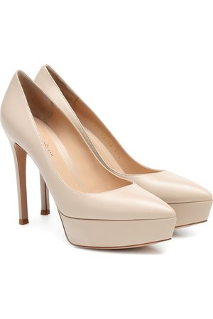 Gianvito Rossi Women Heels - Dasha leather pumps