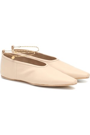 Stella McCartney Faux leather ballet flats