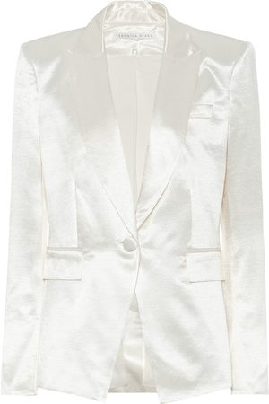 VERONICA BEARD Athens Dickey satin blazer