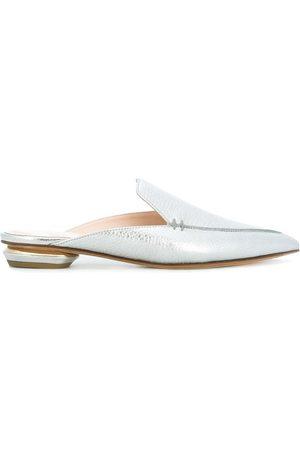 Nicholas Kirkwood Beya 18mm slippers - Metallic