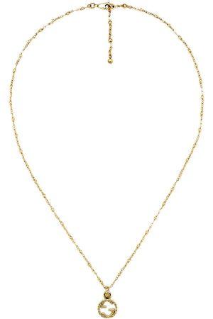 Gucci 18kt gold interlocking G necklace - 8000 Undefined