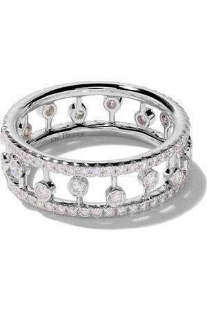 De Beers Jewellers 18kt Dewdrop diamond band