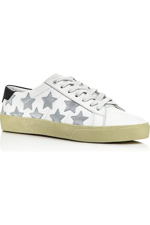 Saint Laurent Women Sneakers - Women's Star Leather Sneakers