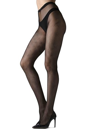Natori Diamond Geo-Net Tights