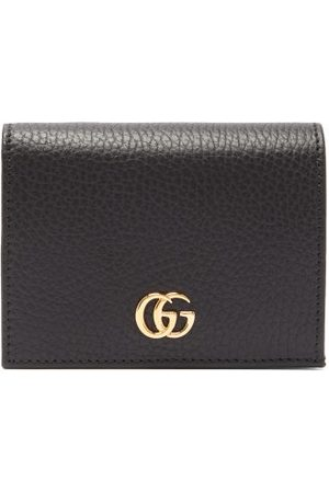 Gucci Women Wallets - GG Marmont Grained-leather Wallet - Womens