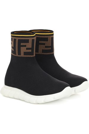 Fendi Girls Sneakers - Jor Boy high-top sock sneakers
