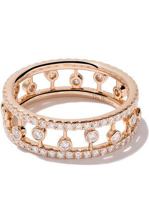 De Beers Jewellers 18kt rose Dewdrop diamond band