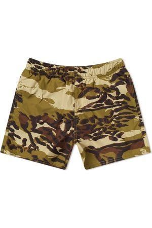 Givenchy Men Swim Shorts - Cheetah Camo Swim Short