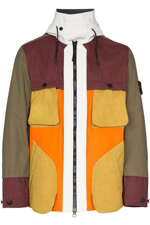 Stone Island Men Jackets - Panelled zip-front jacket