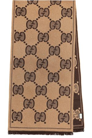Gucci GG wool-jacquard scarf