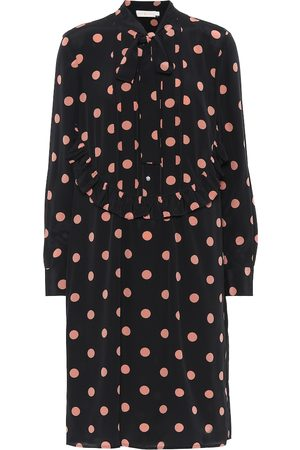 Tory Burch Polka-dot silk shirt dress