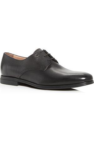 Salvatore Ferragamo Men's Spencer Plain-Toe Leather Oxfords