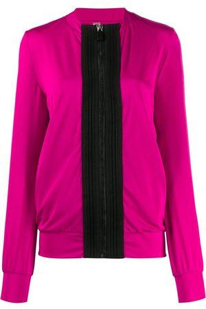NO KA' OI Women Jackets - Two-tone track jacket