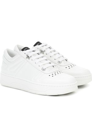Jimmy Choo Hawaii/F leather sneakers