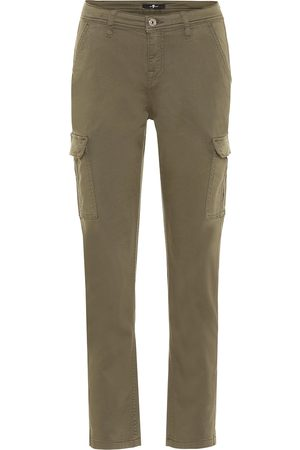 7 for all Mankind Stretch-cotton twill cargo pants