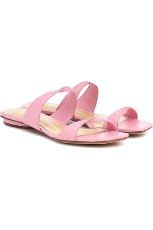 ALEXANDRE BIRMAN Miki Flat leather sandals