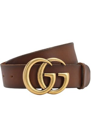 Gucci 40mm Gg Leather Belt